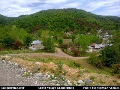 روستای نیلاش-شاندرمن