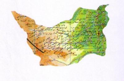 نقشه ماسال و شاندرمن