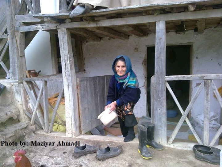 نگاه مهربان مادر تالشی-مازیار احمدی