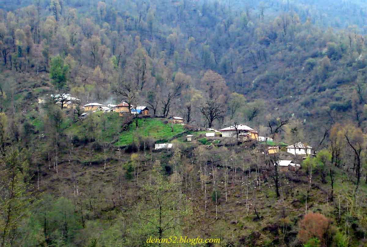طبیعت بهاری روستاهای ماسال و شاندرمن