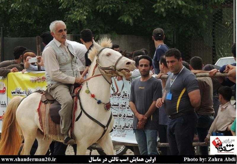اولین همایش اسب تالش- ماسال خرداد ۱۳۹۴