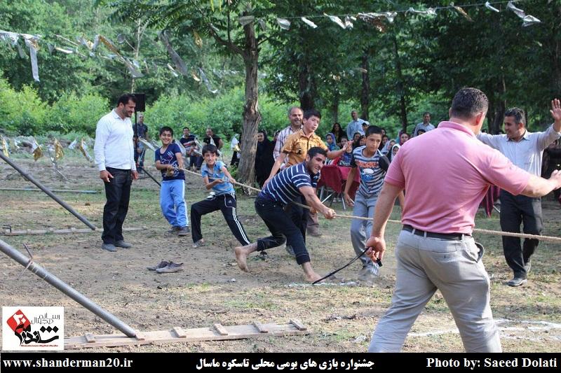 جشنواره بازی های بومی محلی روستای تاسکوه ماسال (۶)