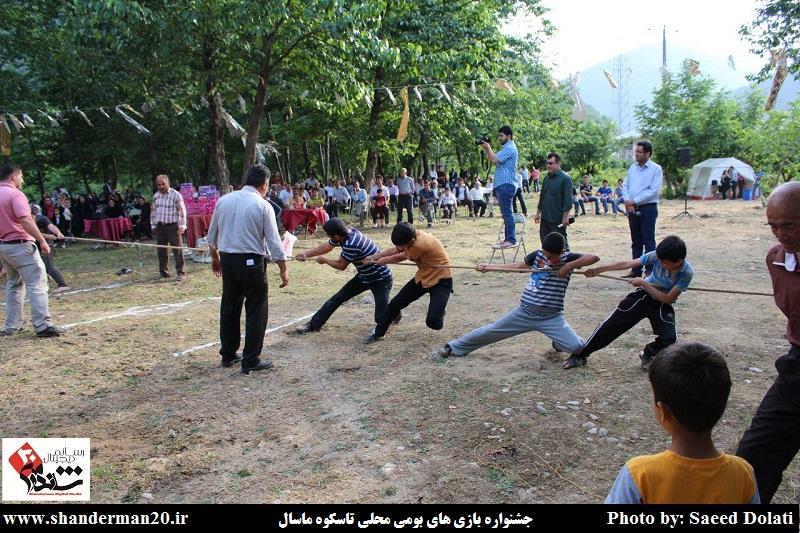 جشنواره بازی های بومی محلی روستای تاسکوه ماسال (۷)