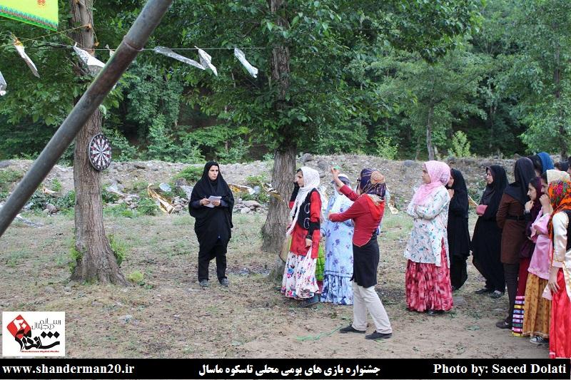 جشنواره بازی های بومی محلی روستای تاسکوه ماسال (۸)