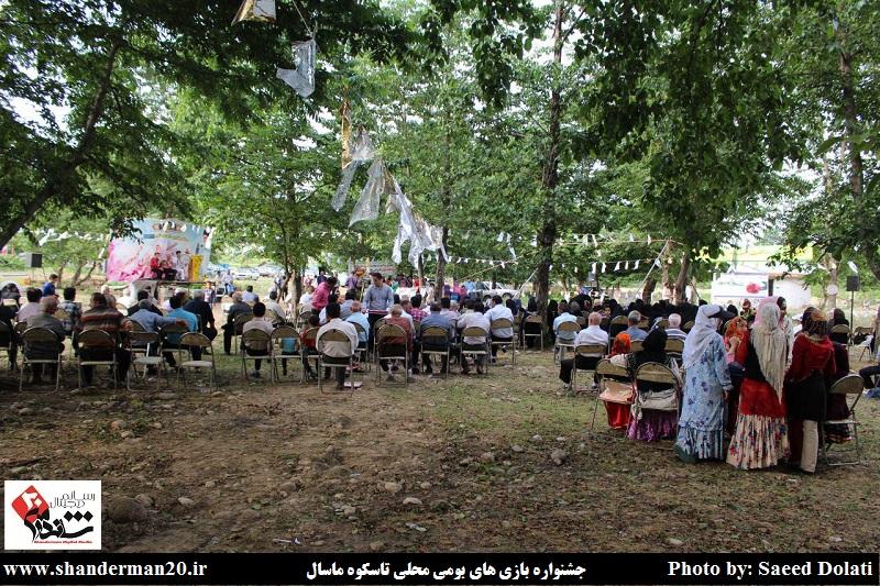 جشنواره بازی های بومی محلی روستای تاسکوه ماسال (۹)