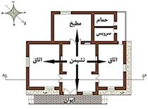 نحوی گسترش فضایی خانه های کرسی بلند