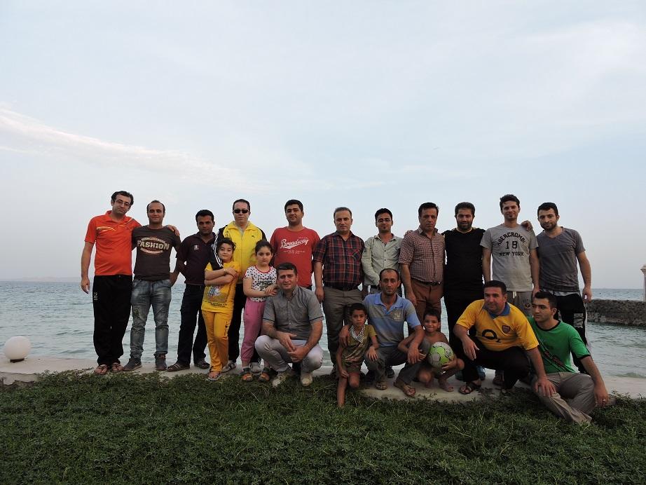گردهمایی تالشان در ساحل زیتون قشم
