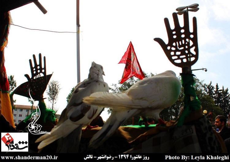 روز عاشورا در رضوانشهر - محرم ۱۳۹۴ - لیلا خالقی (۳)