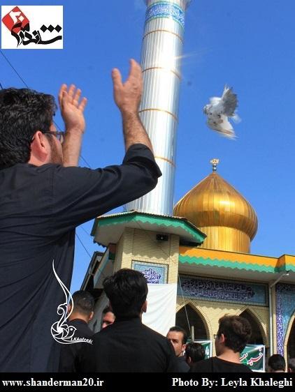 روز عاشورا در رضوانشهر - محرم ۱۳۹۴ - لیلا خالقی (۵)