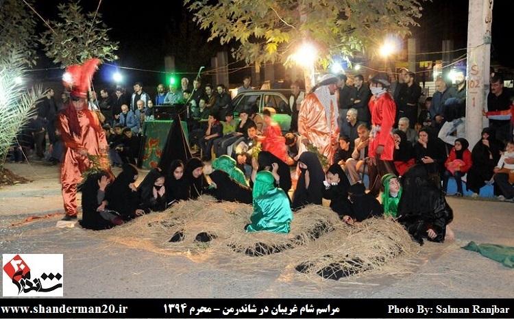 شام غریبان در شاندرمن - محرم ۱۳۹۴ - شاندرمن۲۰ (۵)