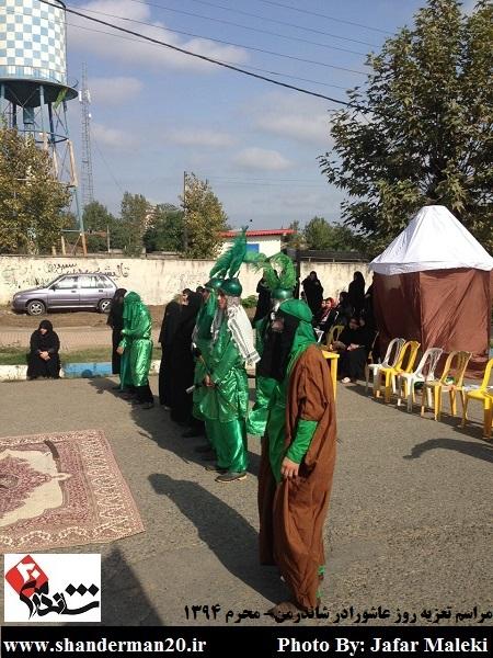 مراسم تعزیه روز عاشورا در شاندرمن - شاندرمن۲۰ (۳)