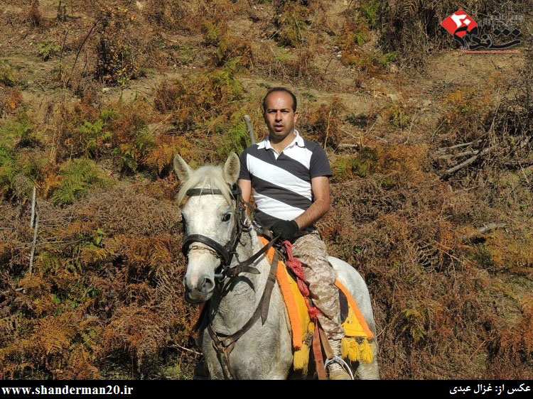 گشت زنی سوارکاران شاندرمنی در یک روز زمستانی - غزال عبدی - شاندرمن۲۰ (۱۱)