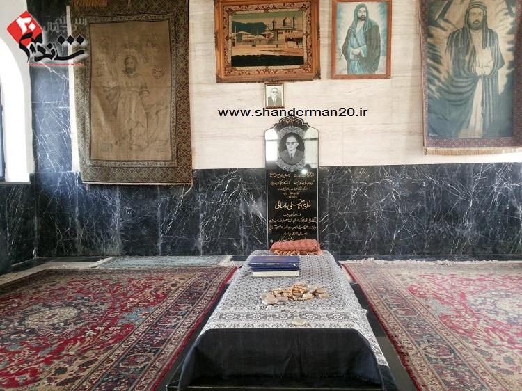 داخل آرامگاه حاج انامقلی ماسالی - شاندرمن۲۰