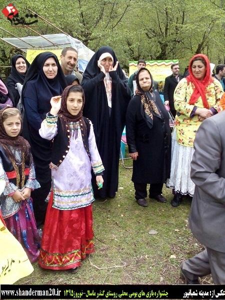 جشنواره بازی های بومی محلی روستای گنذر ماسال - شاندرمن۲۰ (۳)