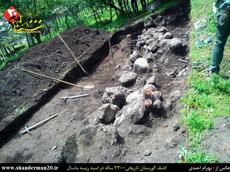 گورستان تاریخی ۳۲۰۰ ساله اسبه ریسه ماسال - بهرام احمدی - شاندرمن۲۰ (۴)
