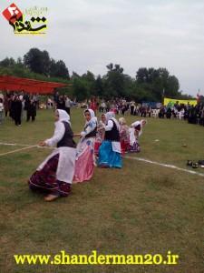 حضور تیم بانوان شاندرمن در بازی های بومی محلی فومن با لباس های زیبای تالشی-تیر۹۵ - شاندرمن۲۰ (۴)
