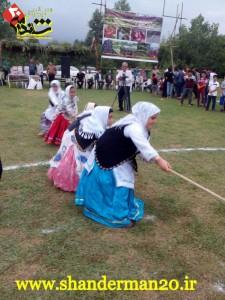حضور تیم بانوان شاندرمن در بازی های بومی محلی فومن با لباس های زیبای تالشی-تیر۹۵ - شاندرمن۲۰ (۵)