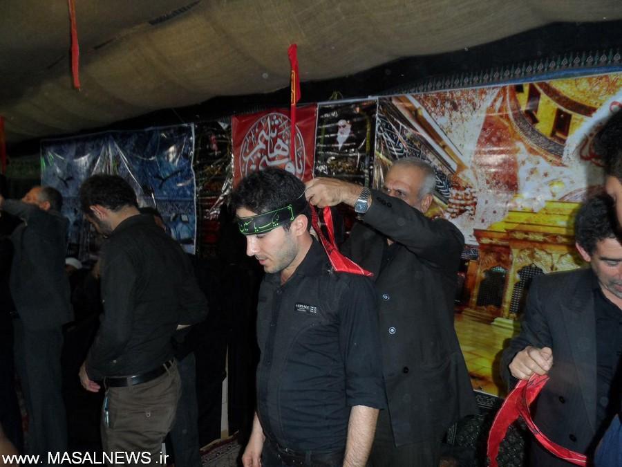 آیین سربندگذاری در شاندرمن برگزار شد + تصاویر