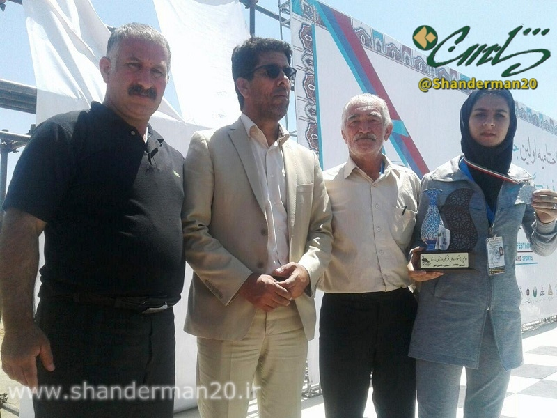 نها عنوان تیم ماسال و شاندرمن (نمانیده استان گیلان) در رشته بانوان بود که خانم ساناز حقیقی در رشته تیراندازی با کمان بانوان به مقام دوم کشوری دست یافت