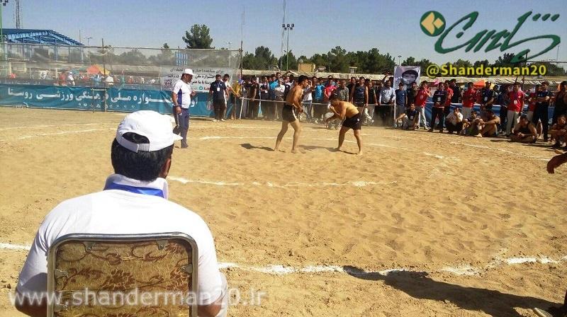 شاندرمنی ها در نخستین جشنواره بازیهای بومی و محلی کشور