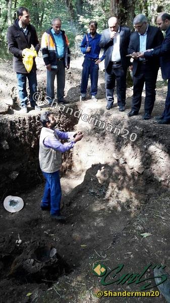 کاوش های باستان شناسی در دیوه لونه شاندرمن ادامه دارد