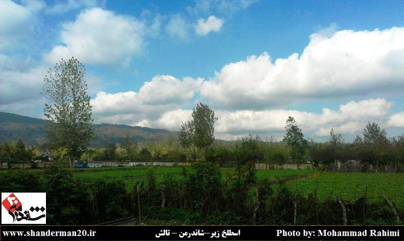 تصاویری چشم نواز از روستاهای اولم و اسطلخ زیر