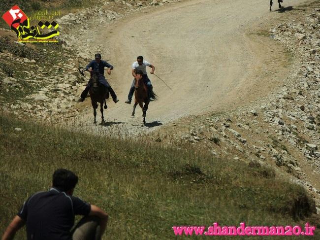 برگزاری جشنواره بازی های بومی محلی و کورس سوارکاری ییلاقی در ییلاق سیفی شاندرمن