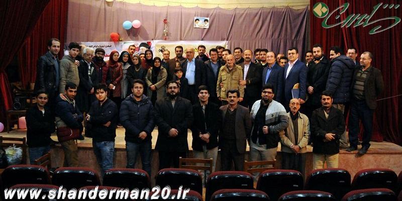 اجرای زنده برنامه رادیو انقلاب در شاندرمن