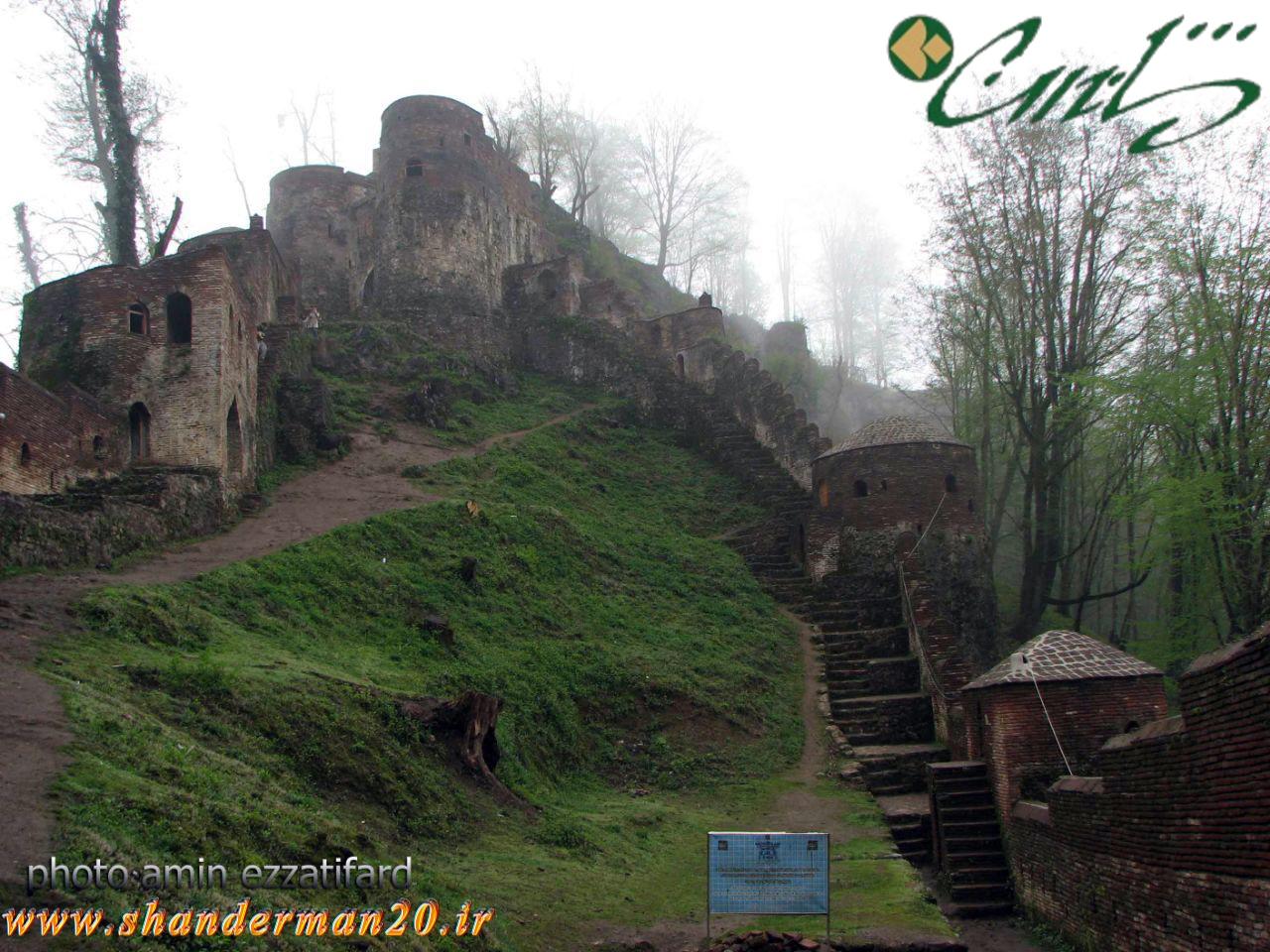 جاذبه های گردشگری تالش | قلعه رودخان فومن