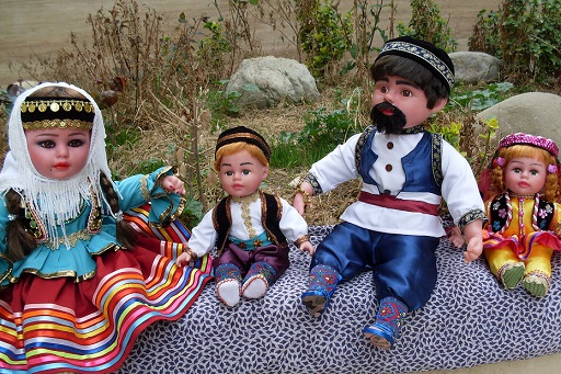 عروسک نمادین قوم تالش تولید خواهد شد