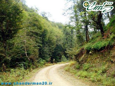 حاجی بجار، دهکده ی جنگلی در شاندرمن گیلان